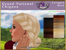 *E* Grand National Chignon [BOXED] 16 colors