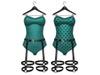 Ducknipple: Bodysuit vs2 - Teal