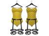 Bodysuit v2 geel slx