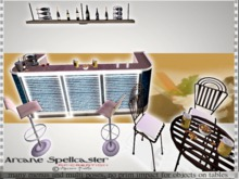 * MESH ▶ Bar tables and Stool Ak-Creations
