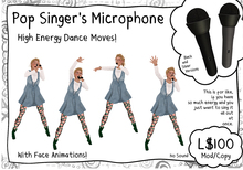 -RC- Pop Singer's Microphone
