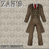 zan's victorian male suit (tweed)