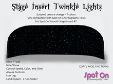 *SO* Stage Insert Twinkle Lights