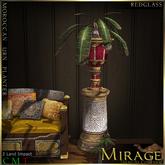 =Mirage= Moroccan Urn Planter - RedGlass