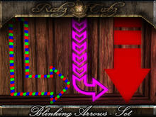 .:[ RatzCatz ]:. MESH NEON Sign 'Arrows'  BigPack