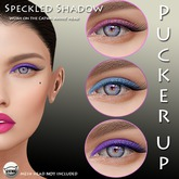 Pucker UP - Speckled -Eyeshadow Trio for CATWA Mesh Heads