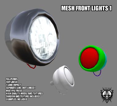 Mesh Front Lights 1 FULLPERM