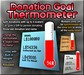 Copyable Donation Goal Thermometer with Percentage Splitting & Sim-Wide Link