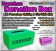 Copyable Premium Donation Box with Percentage Splitting & Sim-Wide Link