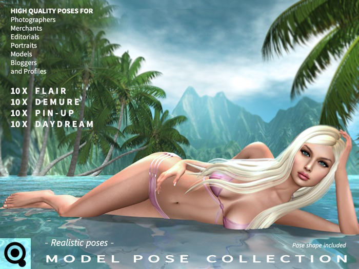 [ Quixotica ] Model Pose Collection
