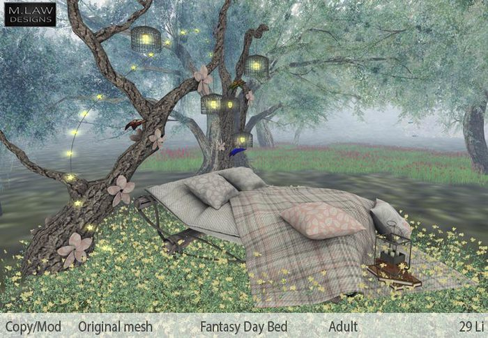 .:M.LAW:. Fantasy Daybed Adult Box