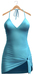 Blueberry - Larissa Mesh Dress - Maitreya Lara, Belleza (All), Slink Physique Hourglass - B. Aqua