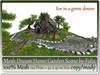Mesh Dream Home Garden Scene 120 Prim=42x42m Size copy-mody