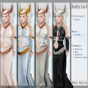 *Sweet Kajira*Ashriel Gold Jewelry pack (BOX)