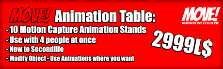 MOVE! Animations Cologne Animation Table