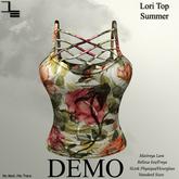 DE Designs - Lori Top Summer - DEMO