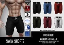 SUMMER SALE - ILLI - [Aesthetic,Signature,Adam,SLink,TMP] Swim Shorts (HUD Driven)