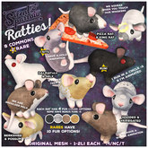 ~silentsparrow~ Rattie - Dumbo - Variegated - Wiggle! (Wear Me)