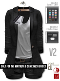GizzA - Sidney Blazer Set V2 [Black]