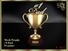 RJ Trophy - Dad (gold) (boxed)