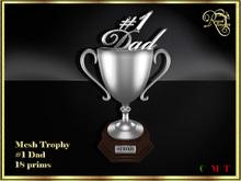 RJ Trophy - #1 Dad in silver