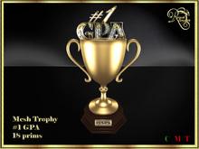 RJ Trophy - #1 Gpa in gold