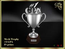 RJ Trophy - #1 Gpa in silver