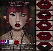:Z.S: Maroon Lips
