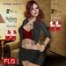 :: FLG Eliseba Jacket Top + 10 Models & Skirt ::