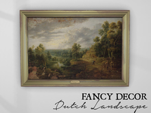 Fancy Decor: Dutch Landscape