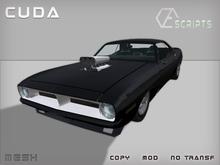 Cuda Muscle Car