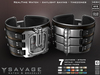 **RE** ReVoX Savage Watch & Bracelet * MESH * (*ReVoX Collection*)
