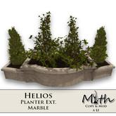 Myth - Helios Planter Ext. Marble