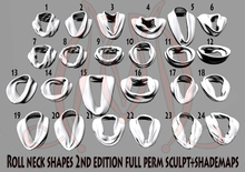 Roll Neck Shapes 2nd edition FULL PERM SCULPT+SHADEMAPS Sweater