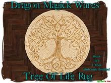 Dragon Magick Wares Tree Of Life Rug Mesh