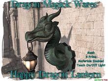 Dragon Magick Wares Happy Dragon Lantern Mesh
