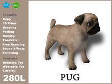 [TomatoPark] Pug Mesh 3.3 ( roaming + wearable )