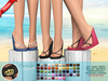 """::MA:: WEDGE FlipFlops """"Crown""""- EXCLUSIVE 50 COLORS"""