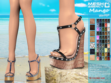 """::MA:: Wedge Sandals """"Mango"""" - EXCLUSIVE 50 COLORS"""