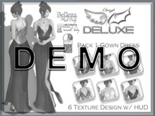 [ DEMO ] Angel DELUXE - Pack 1 Gown Dress - FITMESH + SLINK + BELLEZA + MAITREYA