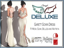 Angel DELUXE - Garett Gown Dress - FITMESH + SLINK + BELLEZA + MAITREYA