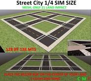 City Street 1/4 SIM / REZZER