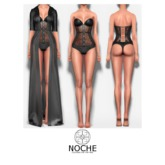 [Noche] Night Lace Lingerie Collection