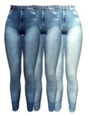 *IS* High Rise Jeans Appliers[SLINK/OMEGA/TMP/MAITREYA/BELLEZA]