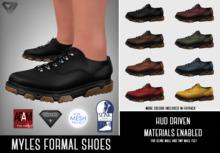 ILLI - [SLink,MeshProject Men,Aesthetic,Adam] Myles Formal Sneakers (HUD Driven) - PROMO