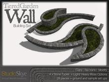 Skye Tiered Garden Wall Building Set - 100% Mesh