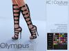 -KC- OLYMPUS BOOTS - MAITREYA, BELLEZA, HOURGLASS, PHYSIQUE