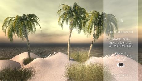 LB Beach Palm Mesh
