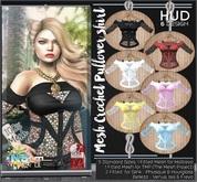 NS::  Mesh Crochet Pullover shirt (HUD)