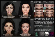 PMS - Eyebrows Set #1
